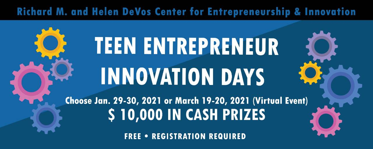 Teen Entrepreneur Innovation Days